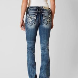 Rock Revival Brand Kylie Boot Stretch Jean 25/30